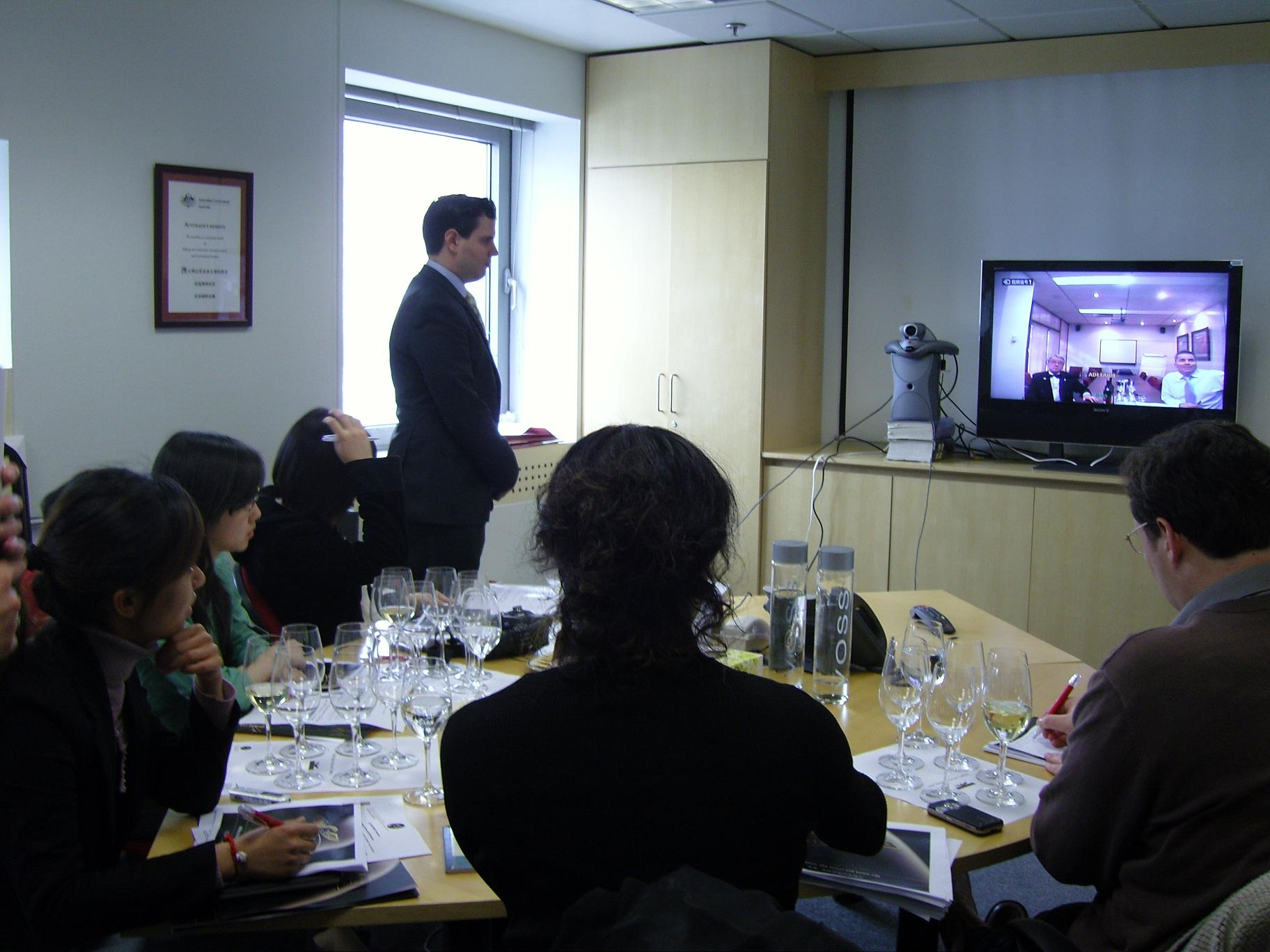 Screw it? Video conference with Wolf Blass, George Samios | Grape Wall ...