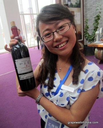 zhang jing winemaker helan qing xue ningxia china