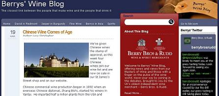 berry bros. and rudd changyu wines blog page capture