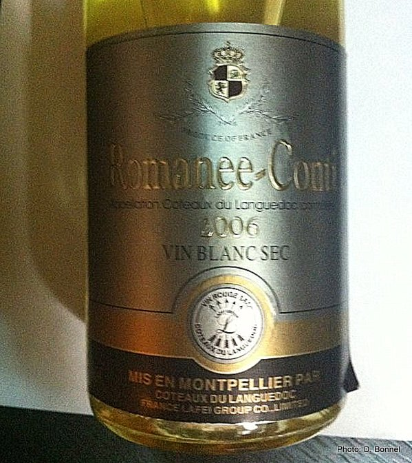 romanee conti lafite from languedoc in china