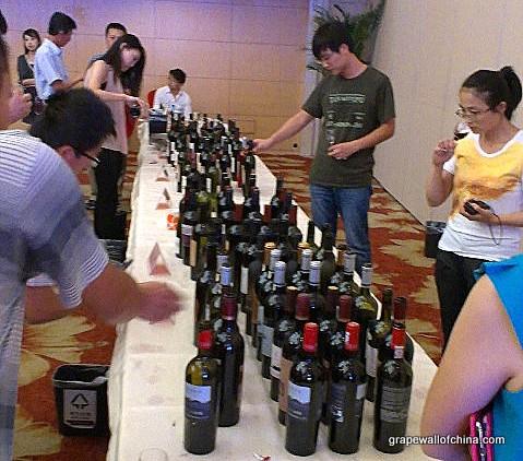 wine china columbin cork tasting in beijing