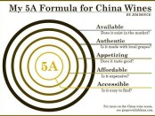 5A refined formula for China wines by Jim Boyce Grape Wall