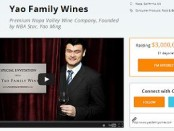 yao family wines crowdfunder campaign