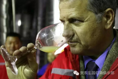 Gianpaolo Paglia Photo for Ningxia Winemakers Challenge Interview on Grape Wall of China 2