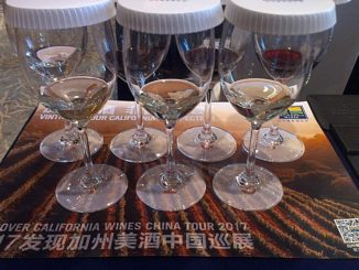 California Wine Institute blind unexpected varieties tasting Beijing