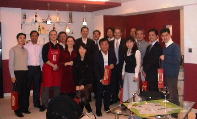 DCT Wines event in China