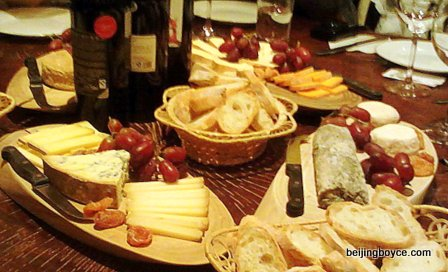 cheese & wine beijing china