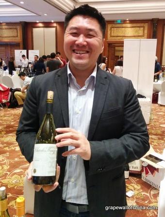 alex chen at california wine institute tasting at st regis hotel beijing china 2015. jpg (4)
