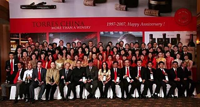torres china 20 years anniversary 2